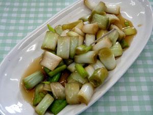 ねぎのがっこ(醤油漬け)