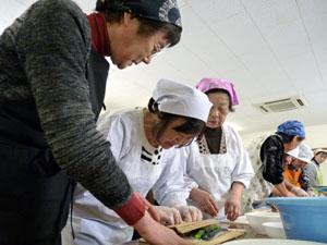 太巻き寿司作り
