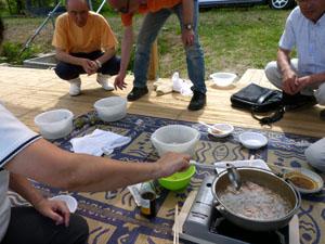 じゅんさい鍋