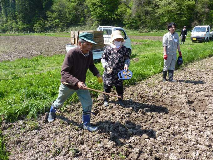 農家民宿「重松の家」夏の仕事