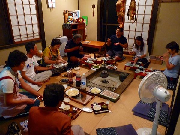 西木研究会と石巻の千葉さんご家族