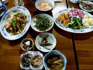 田舎料理(例)