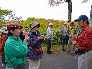 須川湖の散策