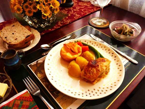 イングリッシュコテージ料理(Bコース)