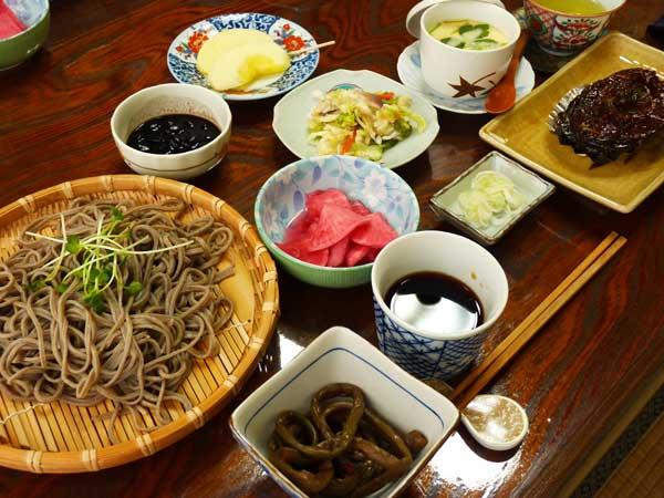 農家レストラン「雅庵」のそば御膳