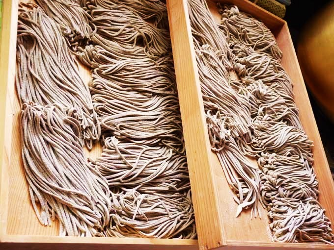 農家レストラン「雅庵」の手打ち蕎麦