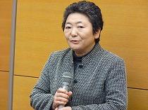 副理事長・石垣一子(直売所 陽気な母さんの店)