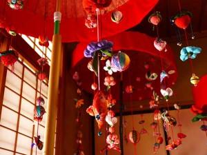 「和み庵京かのこ」の雛飾り