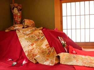「和み庵」京かのこのつるし雛飾り
