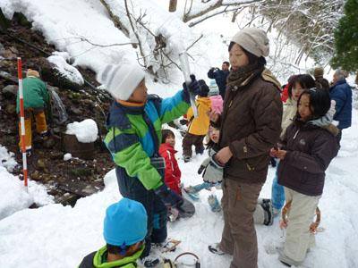 ぶなっこ教室「雪の学校」