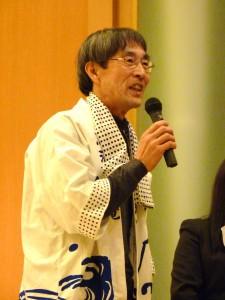 鳥海山伝承芸能祭実行委員会 吉川栄一会長