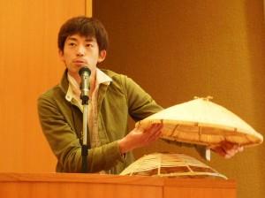 「琴川のすげ笠」佐藤毅さん