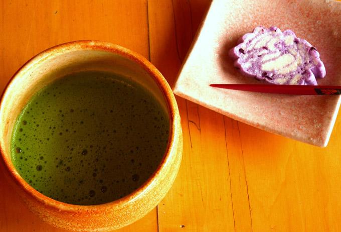 農家レストラン「ゆう菜家」抹茶&うんぺい