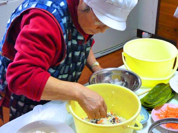 農家民宿のどか 高橋佳子おばあちゃん