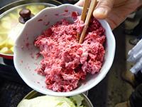 赤カブサラダ