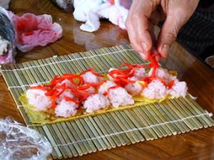 飾り巻き寿司体験